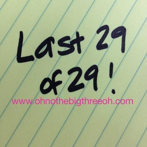 Last29of29