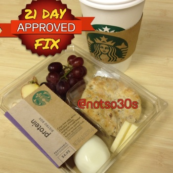 21 Day Fix Starbucks
