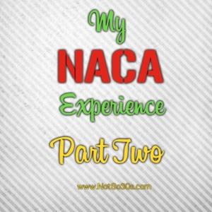 NotSo30s NACA Experience 2